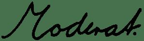 Moderat Unterschrift